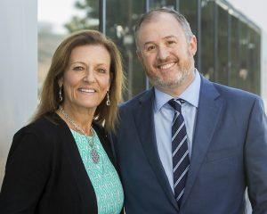 CEO Sara Katz and new President Derek Danziger